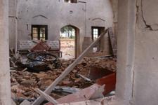 Roketli saldırının şiddeti gün ağarınca ortaya çıktı