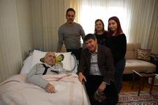 Başkan Türel'den Manavoğlu'na moral ziyareti