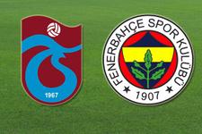 Trabzonspor Fenerbahçe maçı şifresiz canlı izle