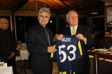 Aziz Yıldırım Rizespor Başkanı ile buluştu