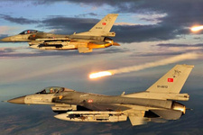 TSK'dan bombardıman! PKK'nın hedefleri yerle bir edildi