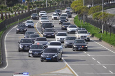 Meral Akşener'in konvoyunda kaza