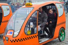 Türkiye'de bir ilk: Elektrikli bisiklet taksiler