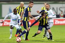 Giresunspor - Fenerbahçe maçı golleri ve geniş özeti