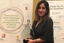 KADEM proje finalisti Duygu Yılmaz'a ABD'den ödül