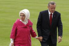 Emine Erdoğan'ın gelinlikli fotoğrafına bakın hiç görmediniz