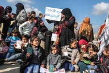 Gazze'de Refah Sınır Kapısı'nın açılması için gösteri