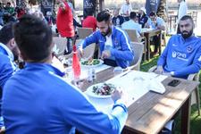 Trabzonspor'da barbekü partisi