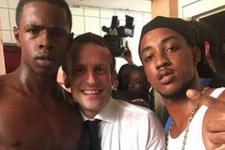 Fransa Cumhurbaşkanı'ndan olay görüntüler: Ülke bu kareyi konuşuyor