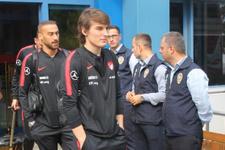 A Milli Takım Trabzon'da