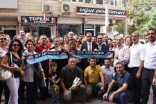 Mardinliler turistleri davul zurnayla karşıladı!