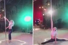 Aleyna Tilki'nin direk dansı olay oldu!