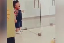 Ağlamasıyla sosyal medyayı sallayan bebek