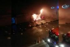 İstanbul'da korkutan patlama! Çok uzaklardan bile görüldü