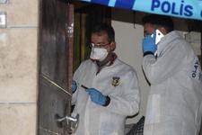 Konya'da içeriye giren polis korkunç manzarayla karşılaştı!