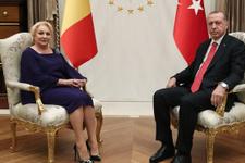 Erdoğan, Romanya Başbakanı Dancıla ile görüştü