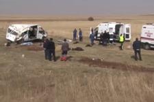 Kayseri Pınarbaşı'nda feci kaza! Ölü ve yaralılar var