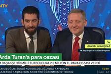 Başakşehir Başkanı Göksel Gümüşdağ'dan dikkat çeken Arda Turan açıklaması