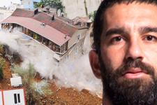 Çöken binanın sahibi konuştu: Arda'dan şikayetçiyim