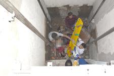 Bir anda dengesini kaybeden inşaat işçisi 6 kattan düşerek can verdi!