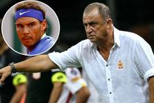 Rafael Nadal'dan Terim'e büyük jest