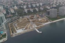 Başkan Mevlüt Uysal'ın müjdesini verdiği yer havadan görüntülendi