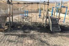 PKK Diyarbakır ve Siirt'te çocuk parkını yaktı