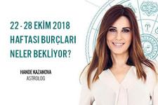 Hande Kazanova - 22 - 28 Ekim 2018 Haftalık Burç Yorumları
