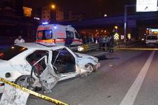 Pendik'te trafik kazası: 1 ölü