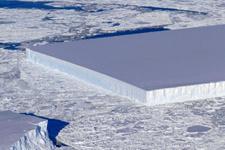 NASA ilginç görünümlü buzdağı keşfetti!