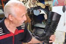 Ayakkabı ustasının ilginç arşivi !