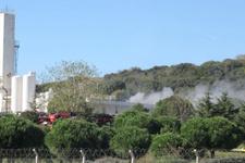 Pendik'te İstanbul Tersane Komutanlığı'nda yangın