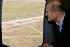 Süleyman Soylu Türkiye-İran sınırındaki güvenlik duvarını inceledi