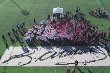132 kadın 2 milyon 852 bin 496 ilmekle Atatürk imzası yaptı