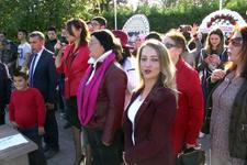 CHP'li kadınlar Andımız'ı yanlış okudu