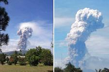 Endonezya'da bu kez de yanardağ patladı!