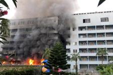 Alanya'da 4 yıldızlı otelde yangın