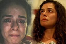 Fox TV'nin Kadın dizisi hayranlarını yıktı geçti Özge Özpirinçci gözyaşlarına boğuldu