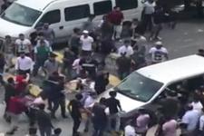 İstanbul'da büyük kavga! Dehşet görüntüler