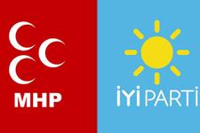 MHP ile İYİ Parti arasında