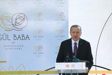 Cumhurbaşkanı Erdoğan Gül Baba Türbesi'nde