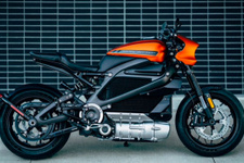Harley Davidson yeni 'elektrikli motosiklet'ini tanıttı