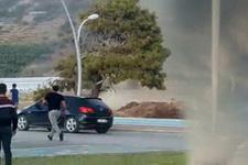 Antalya'da hortum dehşeti! Karavanı havaya uçurup...