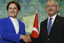 Kılıçdaroğlu ve Akşener'den 'yerel seçim' görüşmesi
