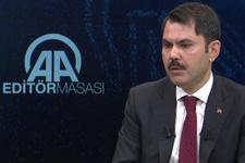 Çevre Bakanı Murat Kurum'dan önemli açıklamalar
