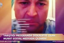 MasterChef'ten elenen Murat çılgına döndü! Olay video