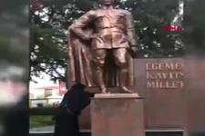 Melih Gökçek'ten Atatürk heykellerine yapılan saldırılara sert tepki: Tezgaha gelmeyeceğiz