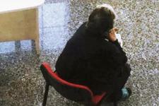 Hayırsız evlat Annesini bakanlığın kapısına bırakıp gitti