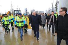 İBB Başkanı Uysal: 'İlk millet bahçelerinin açılışında Cumhurbaşkanımızla buluşmayı bekliyoruz