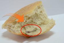 Ekmeğin içinden çıkan şey şoke etti